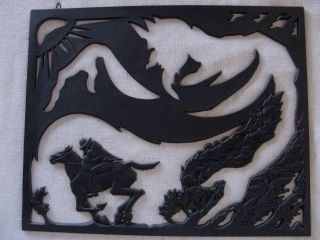 Buderus Kunstguß Relief Motiv Aus Dem Erlkönig Mod.  : Prof.  Walter Hege Naumburg Bild