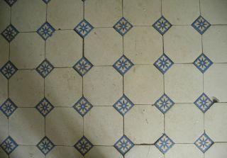 Antike Bodenfliesen Fliesen 14 M² Bild