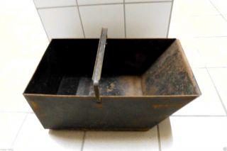 Kohlenkasten Kohlekasten Kohlenschütte Aschekasten Aschebehälter Bild