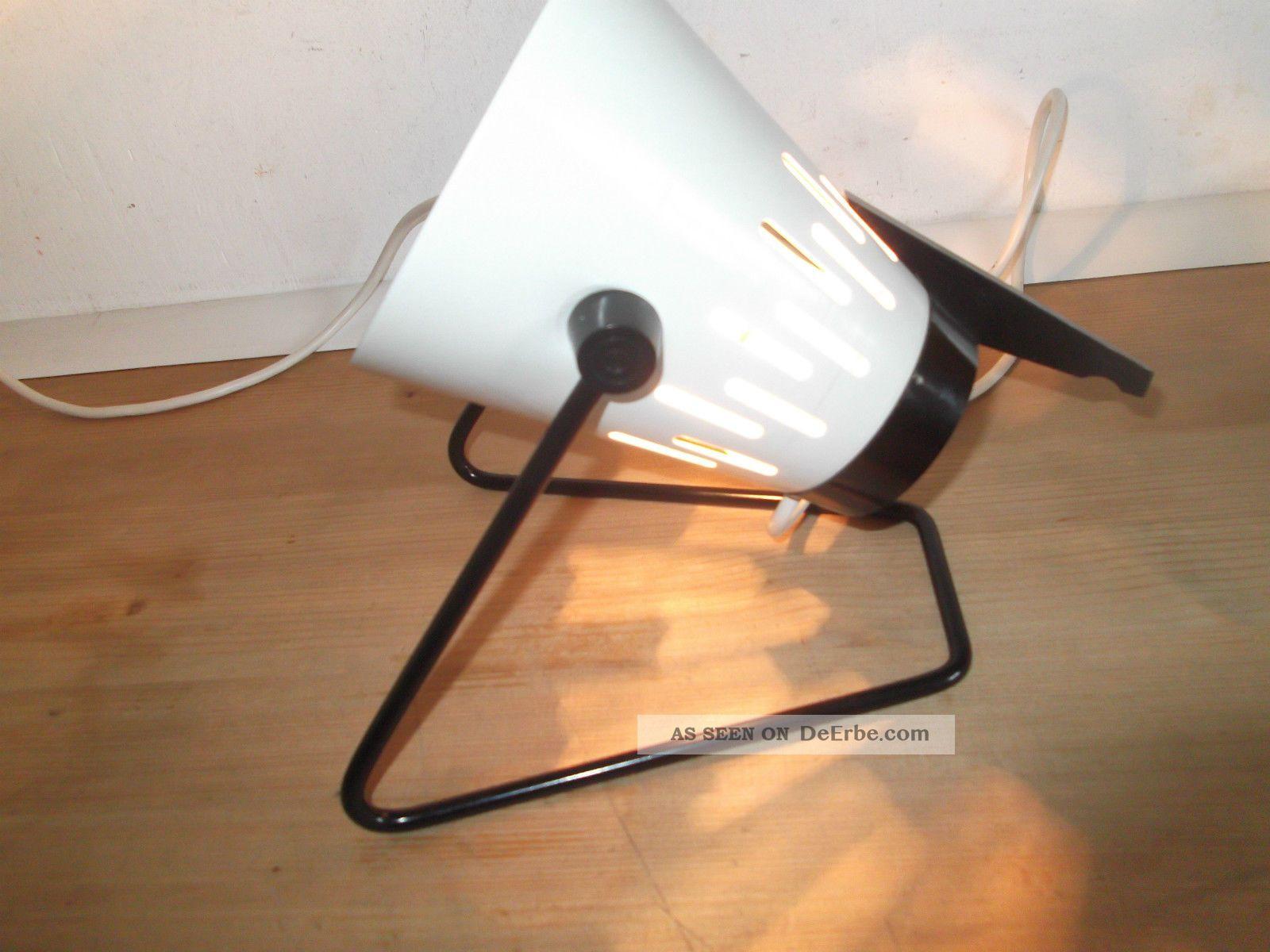 vintage retro 1970er space age lampe tischlampe weiss. Black Bedroom Furniture Sets. Home Design Ideas