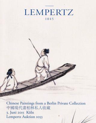 Chinese Paintings - Rollbilder - Qi Baishi U.  A.  : Lempertz Köln 15,  Results Bild