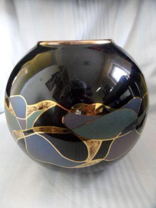 Vase Italy Glas,  Höhe: Bild