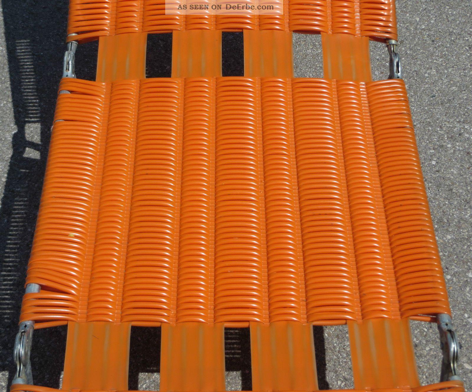2 Stück Liege Liegestuhl Sonnenliege Klappliege Orange