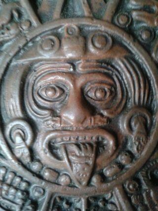 Mexikanische Sonnenuhr Bild Maske Bild