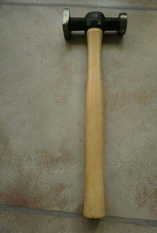 Schmied Schlosser Hammer Treibhammer Kugelhammer 380 G. Bild