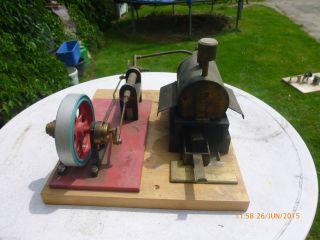 Alte Dampfmaschine - Bild