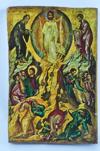 Ikone Auferstehung Jesus Wandtafel Russian Icon Heilige Tafel 06 - D - Ak Bild