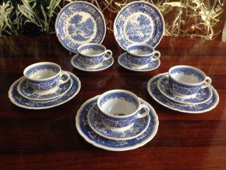 Villeroy & Boch Burgenland In Blau - 5 Kaffee - Oder Teegedecke Bild