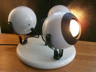 Orig.  70er Jahre 3 Flam.  Decken - Spot - Sputnik / Space Age / Deckenlampe Bild