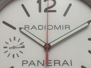 Neue Radiomir Panerai Händler Showrooms Austellung Messen Wanduhr Bild