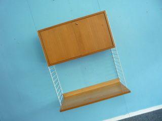 Esche String Container Mit Klapptüren & 1 Xxl Brette.  Guter Originalzustand Bild