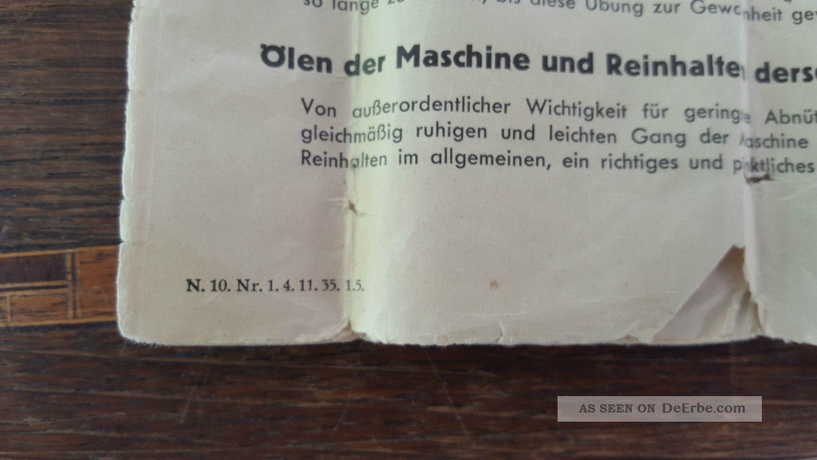 Junker & Ruh Standnähmaschine Alte Nähmaschine Im Schrank  -> Nähmaschine Junker Und Ruh