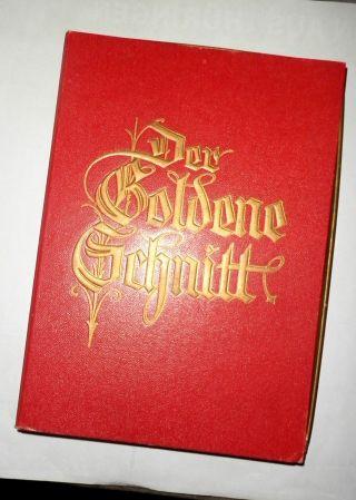 Der Goldene Schnitt Aigenberger & Albers - Seltene Ausgabe Buchkassette 1938/39 Bild