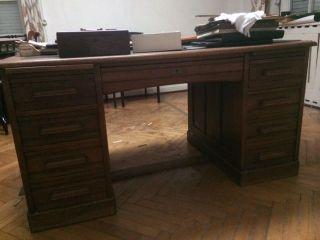 Schreibtisch,  Tisch,  Antiker Tisch,  Cheftisch,  Gründerzeittisch,  Top Bild