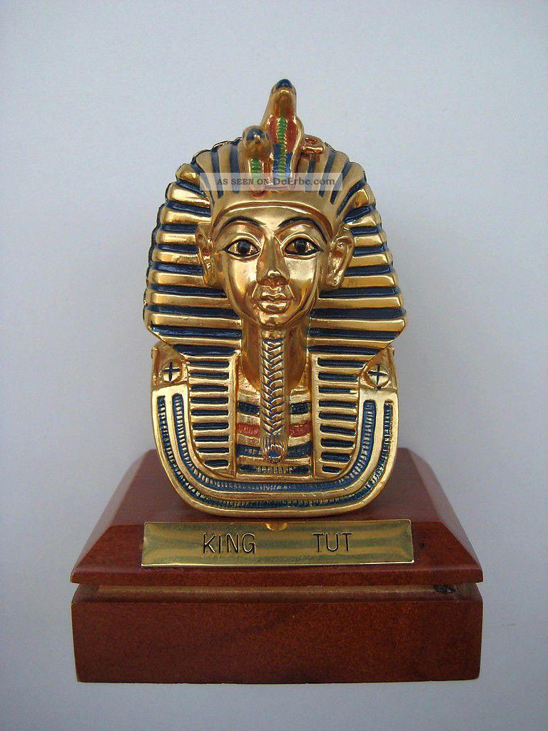 Ägyptische Sammlung Konvolut - Tutanchamun MÜnzen Papyrus Pyramide SkarabÄus Antike Bild