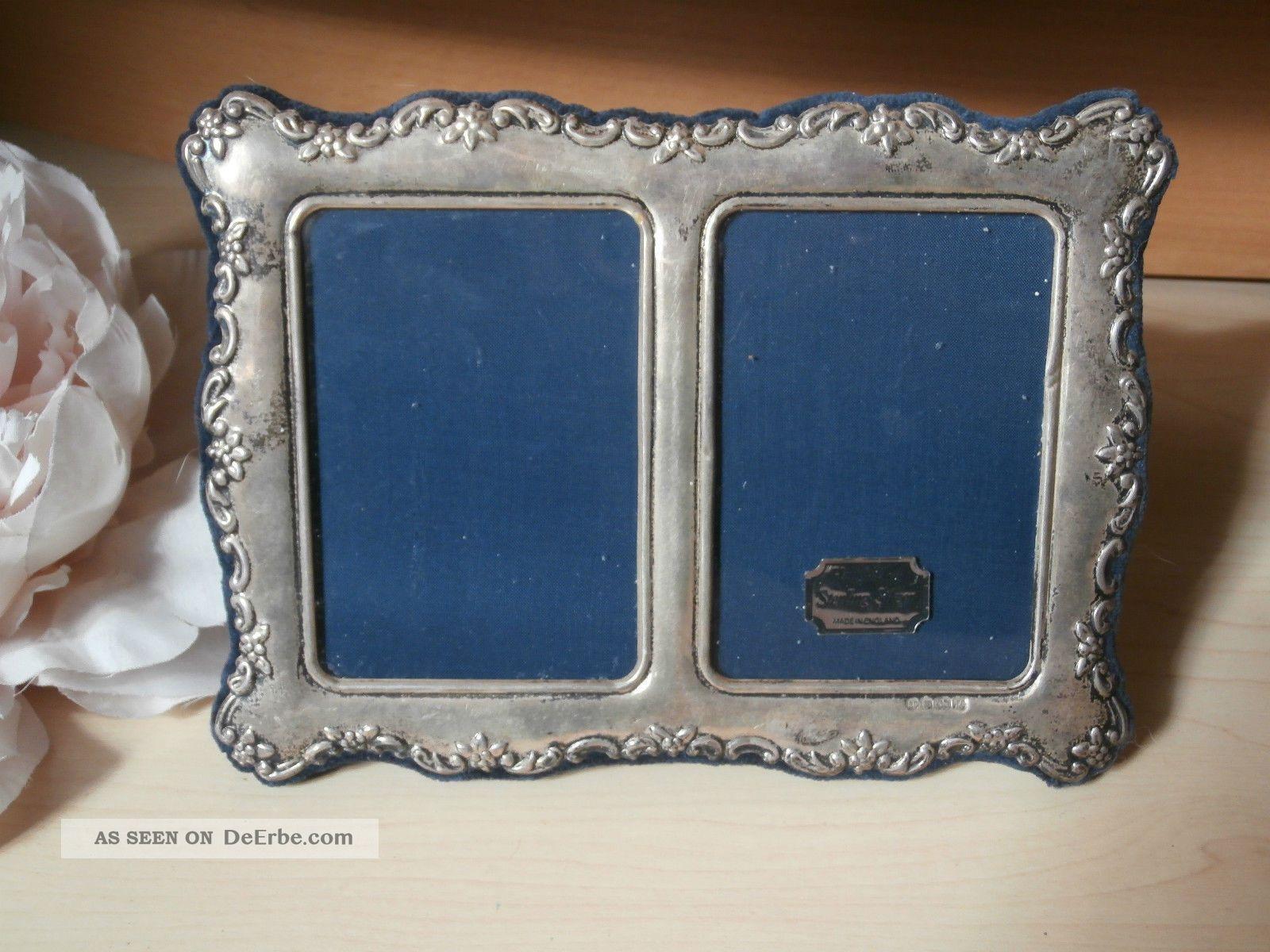 Großzügig Triple Silber Fotorahmen Bilder - Benutzerdefinierte ...