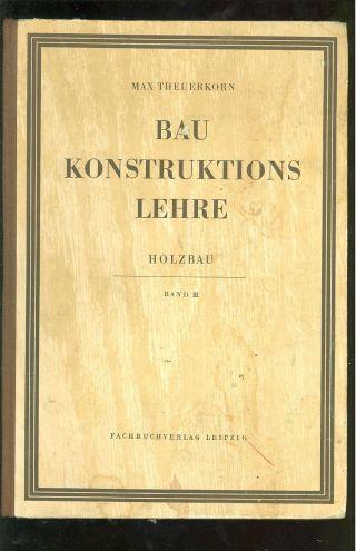 Baukonstruktionslehre Holzbau Bild
