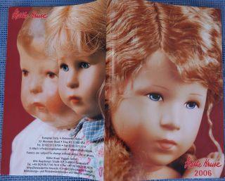 Käthe Kruse 2006 Katalog,  114 Seiten,  Kleines Format,  Däumelinchen,  Liebeskind Bild