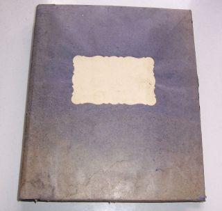 Altes Musterbuch über Garne Kamelhaar Wolle Seide Kaufmanns Nachlaß Um 1930 Bild
