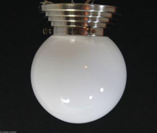 Art Deco Opalglas Lampe - Deckenlampe - Ø 15 Cm Bild