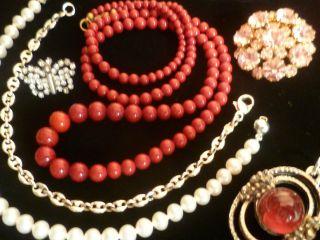 Schmuck Konvolut,  Echte Perlen,  Edelsteine,  Silber,  Nur Für 1 Tag Bild