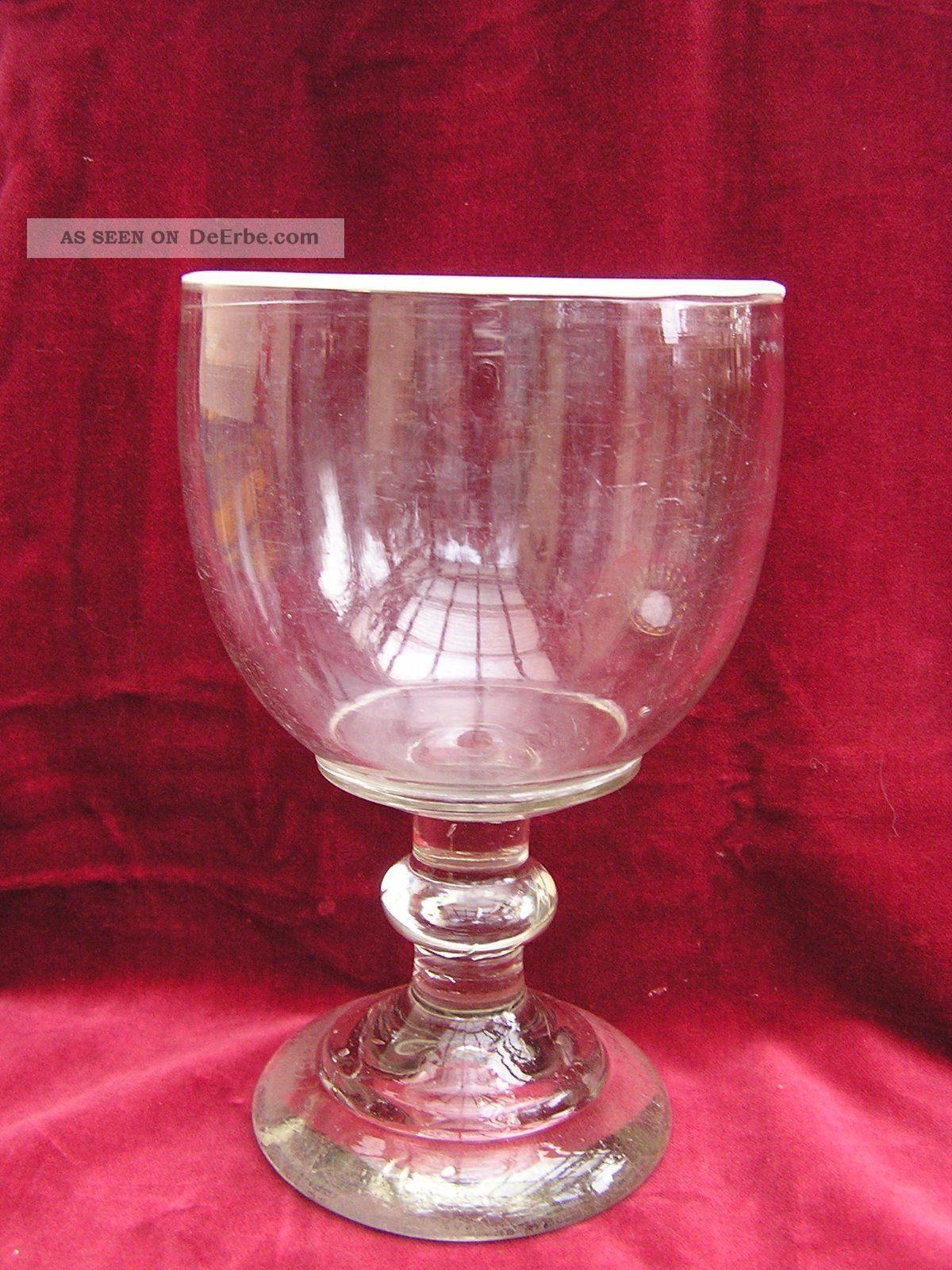 biedermeier wei bier weisse glas weissrandglas berlin um 1850. Black Bedroom Furniture Sets. Home Design Ideas