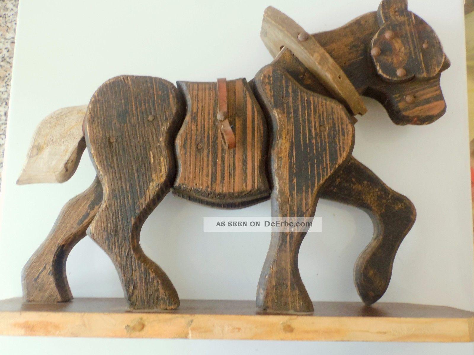 antikes holzpferd - spielzeug für kinder - Holzspielzeug Fur Kinder