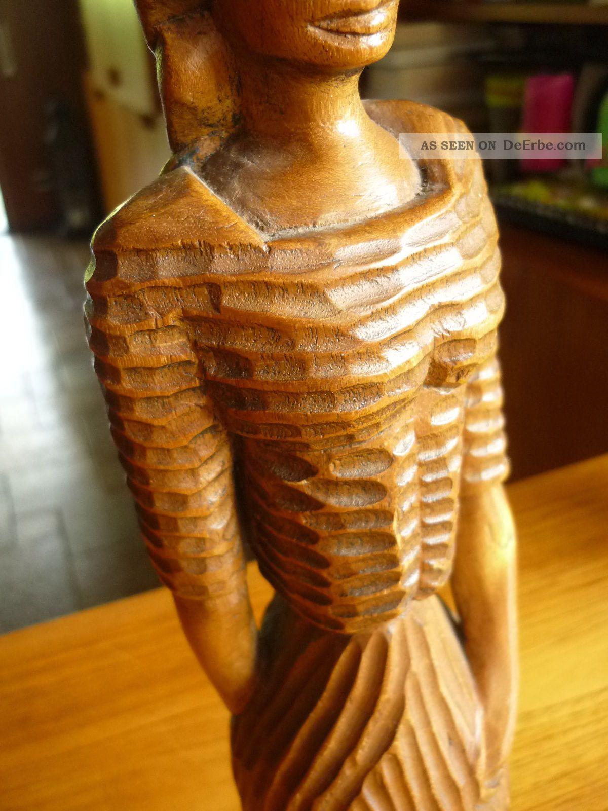 skulptur frau mädchen 41, 5 cm schöne designer figur handarbeit