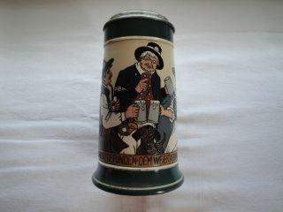 Seltener Mettlach Bierkrug Mit Der Nr.  3251 Bild