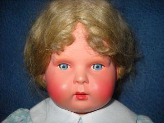 Minerva Puppe 30 Cm 1945 - 50 Jahre In Perfektem Bild