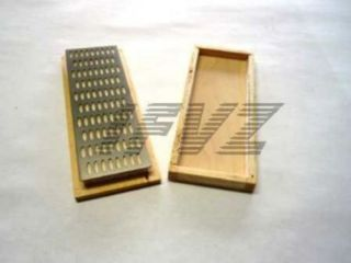 Diamant Abziehstein Diamond Whetstone Tool Werkzeug Körnung 240 In Holzbox K240 Bild
