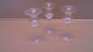 Glas & kristall dekorglas kerzenhalter & leuchter antiquitäten