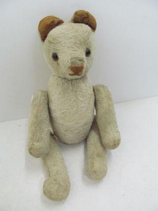 Mes - 43039 Alter Teddybär Mit Holzwollstopfung L:ca.  24cm, Bild