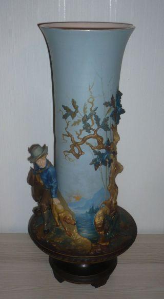 Mettlach Vase 52 Cm,  Sehr Selten Bild