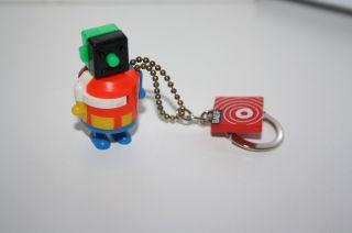 Roboter,  Space Toy,  Germany,  Schlüsselanhänger,  Geschicklichkeitsspiel,  1960,  4,  5 Cm Bild