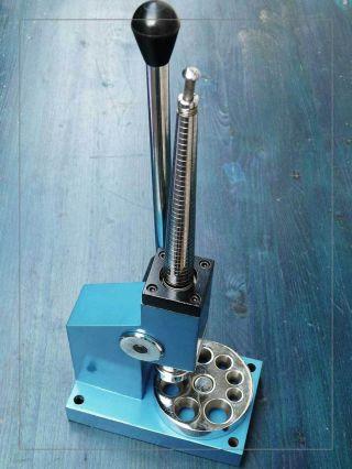 Ringänderungsmaschine M.  Drehbarer Stauchplatte,  8 Löcher 14 - 25 Mm,  9 Kg Bild