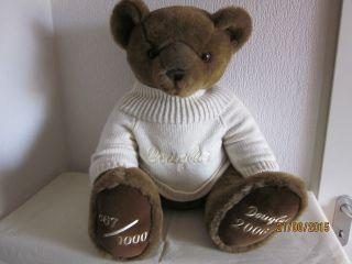 Schöner Großer Douglas - Sammlerbär,  60 Cm,  Jahr 2006,  Limitiert 867/1000 Bild