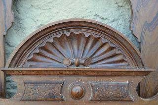 Antikes Bett Jugendstil Gründerzeit Holz Vintage Shabby Chic Bild