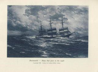 Werkschau Maritimer Maler : Schnars Alquist 1925 Sein Leben Und Seine Kunst Skh Bild