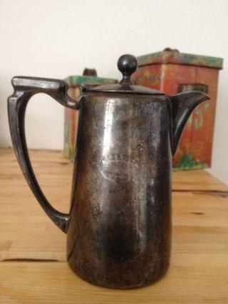 Versilberte Teekanne England Mappin&webb Ltd 0,  85 Liter Bild