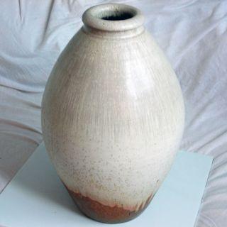 Grosse Studio - Keramik - Bodenvase Von Elly & Wilhelm Kuch Aus Burgthann 70/80er Bild