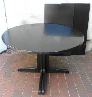 Esstisch rund ausziehbar schwarz  Antiker Esstisch Rund Ausziehbar ~ CARPROLA for .