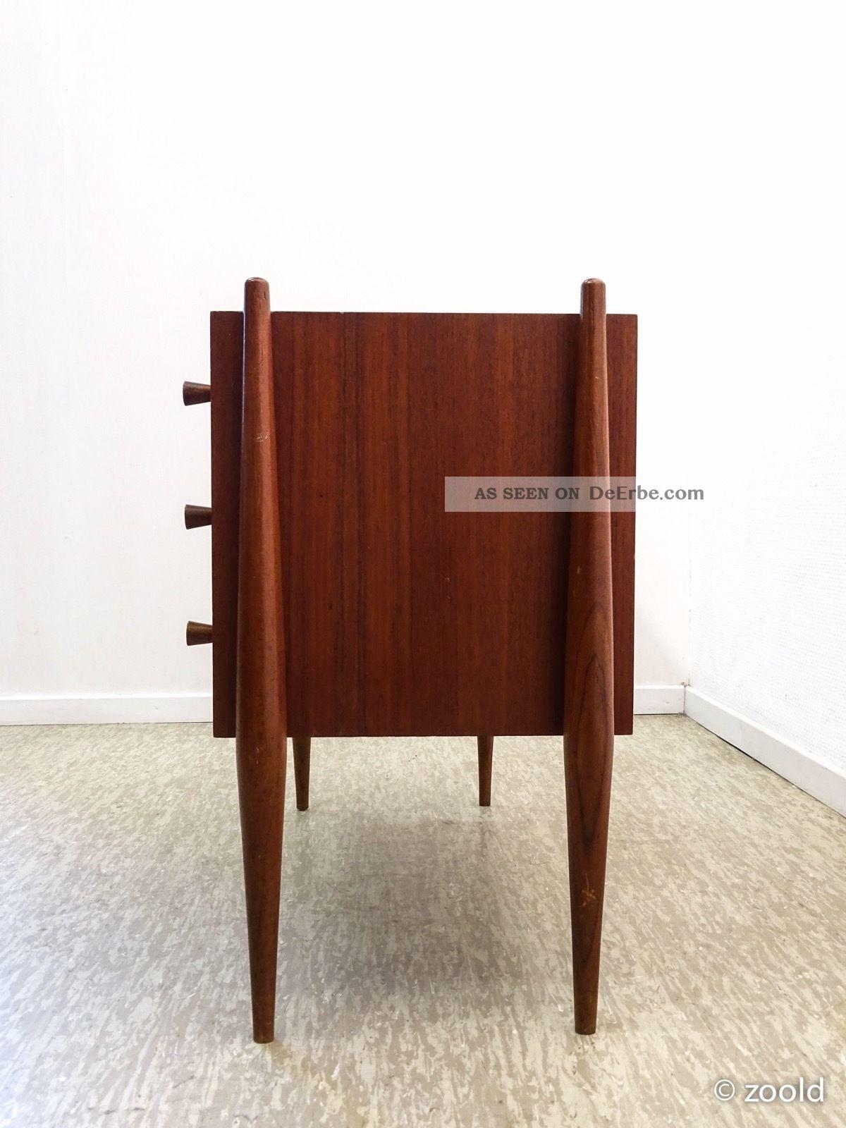 sideboard teak skandinavisch d nisch midcenutry. Black Bedroom Furniture Sets. Home Design Ideas