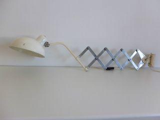 Helo Lampe,  Scissor Lamp,  Wall Lamp,  Scherelampe 50er 60er Bauhaus,  Dell Kaiser Bild