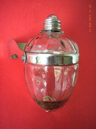 Art Deco Seifenspender - Chrom Und Glas Bild