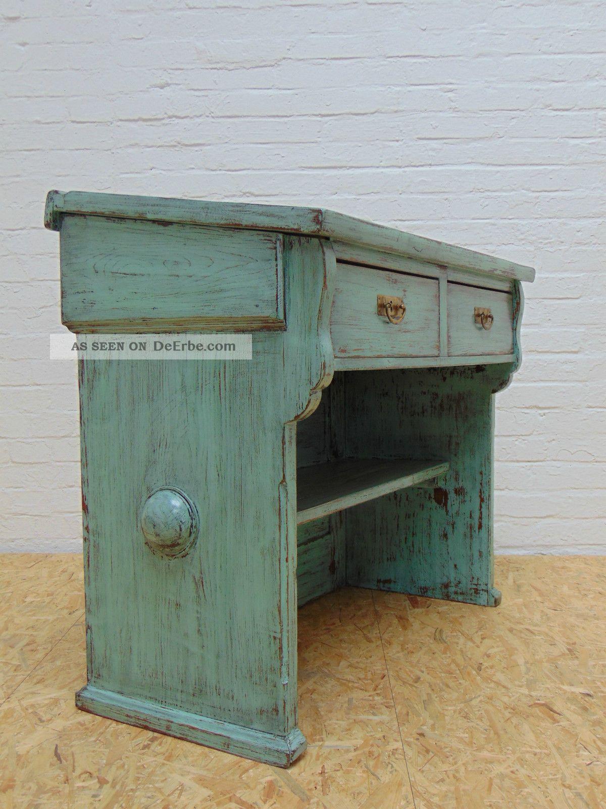 top lehrerpult um 1910 jugendstil kommode shabby schreibtisch halle sa. Black Bedroom Furniture Sets. Home Design Ideas