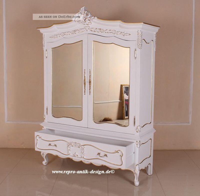 Kleiderschrank weiß barock  Kleiderschrank Weiß Barock ~ Alles Bild für Ihr Haus Design Ideen