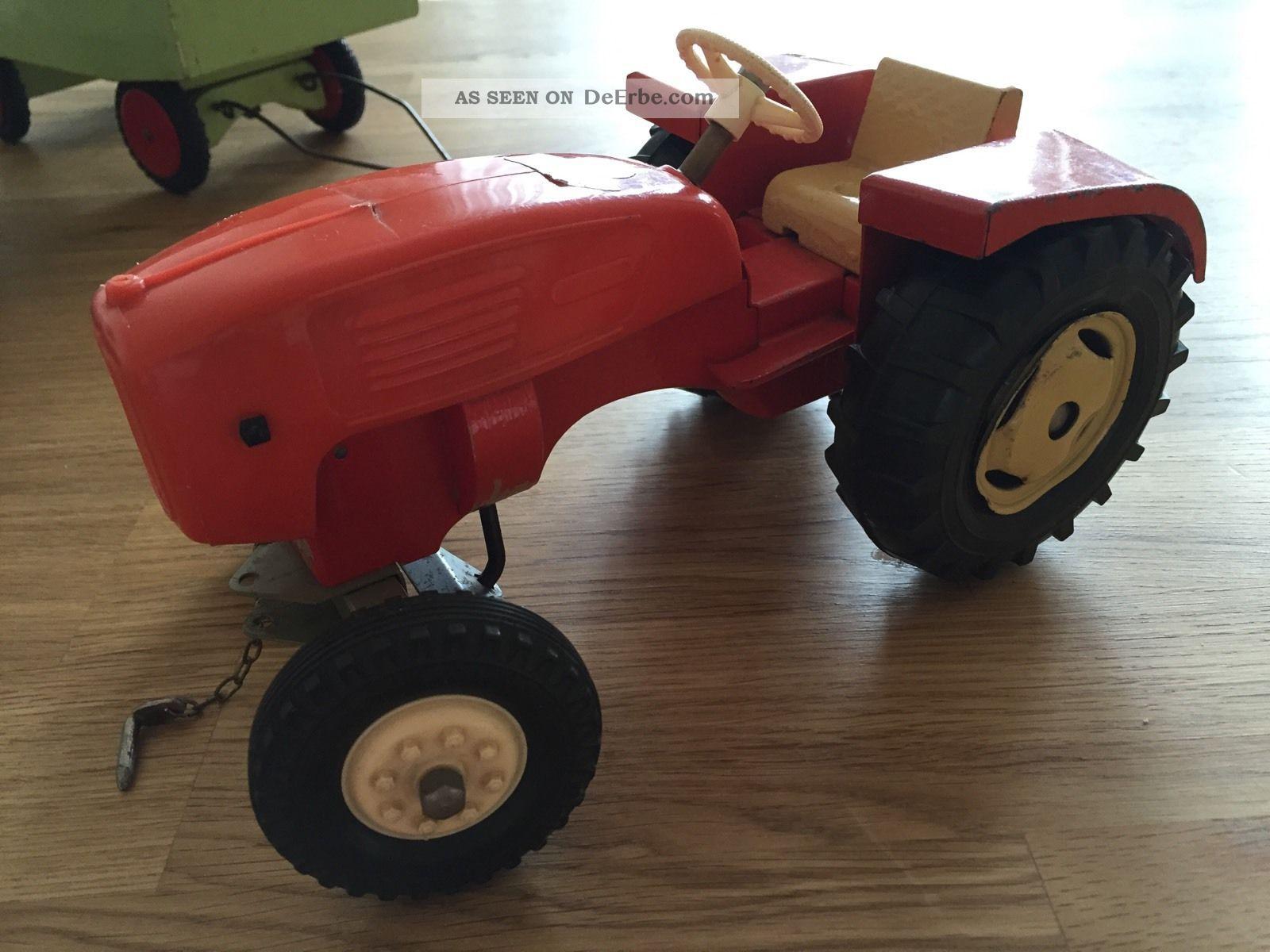 steiff traktor trecker mit anh nger zirkuswagen 60er. Black Bedroom Furniture Sets. Home Design Ideas