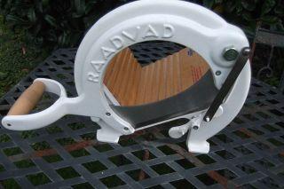 Raadvad Denmark Brotschneidemaschine Bread Slicer Bild