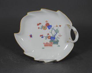 Meissen Indisches Astmuster Kakiemon Schale Blattschale Dish Bowl Bild